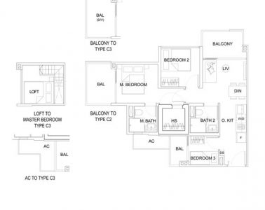 uptown-at-farrer-floorplan-3-bedroom-c2c3